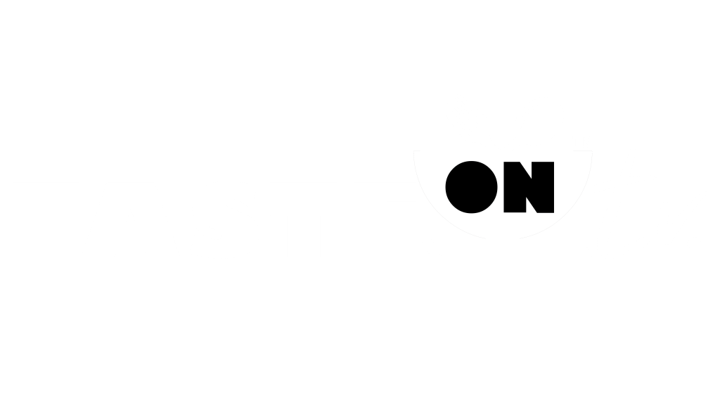 Taste On TV Logo - White